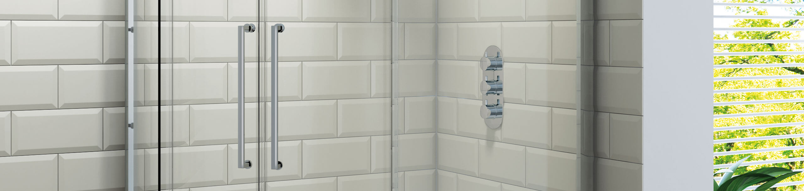 Offset Quadrant Shower Enclosures