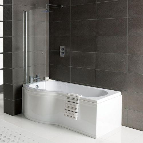Arley Kurv2 Reversible 6mm Curved Shower Screen
