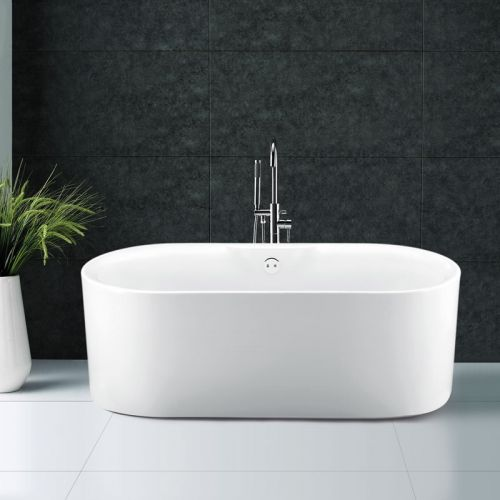 Synergy Kingston Modern Double Ended Bath 1700 x 765 x 580mm