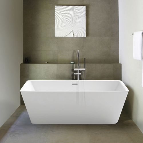 Synergy Lido Modern Double Ended Bath 1700 x 800mm