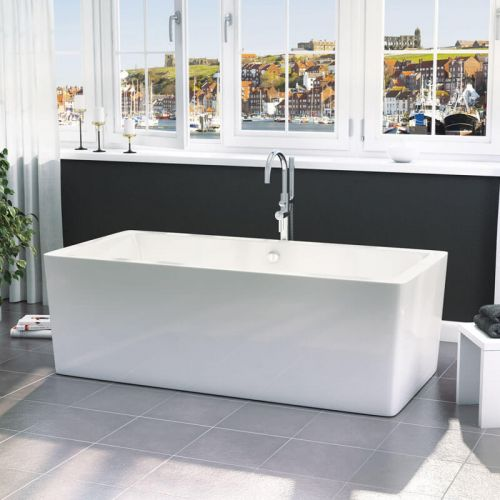 Synergy Square Modern Double Ended Bath 1705 x 800 x 560mm
