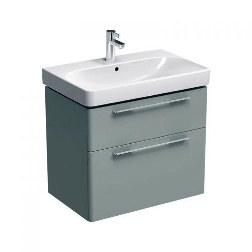 Geberit Smyle Grey 750mm Vanity Unit & 1 Taphole Basin