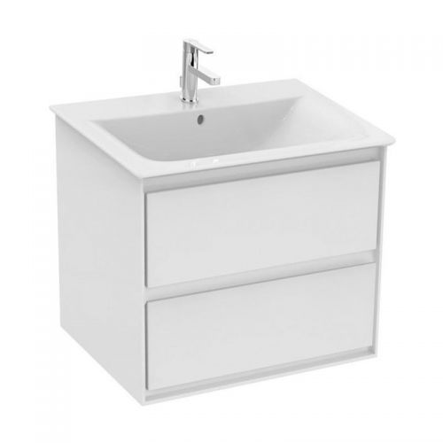 Ideal Standard Concept Air 600mm White Wall Hung Vanity Unit and Basin