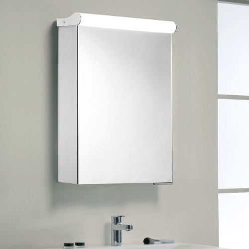 Synergy Halo Illuminated Mirror Cabinet 440 x 650mm
