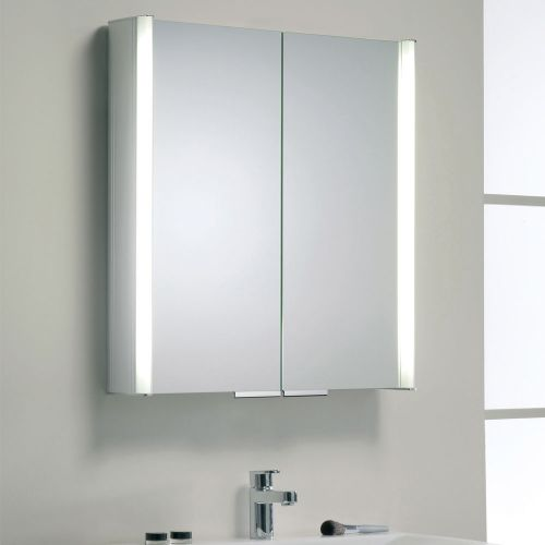 Synergy Soho Illuminated Mirror Cabinet 650 x 700mm