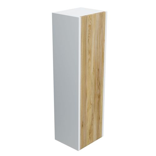 Synergy Float Driftwood Wall Side Cabinet