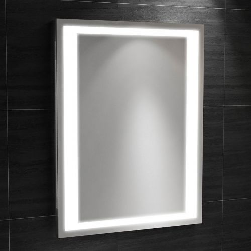 Synergy Modena Mirror with IR Switch, Shaver, Demister and LED clock 800 x 600mm