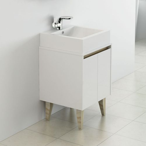 Synergy Nordic 500mm Cabinet & Countertop Basin