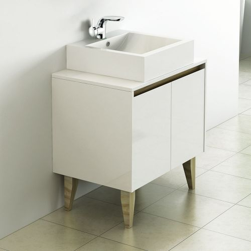 Synergy Nordic 700mm Cabinet & Countertop Basin