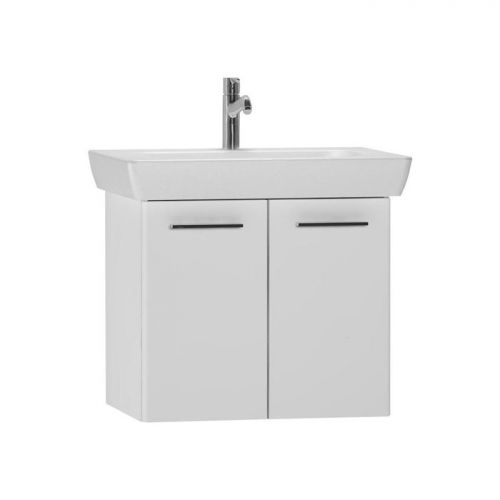 Vitra S20 White 65cm Wall Mounted Vanity Unit With Basin 54782