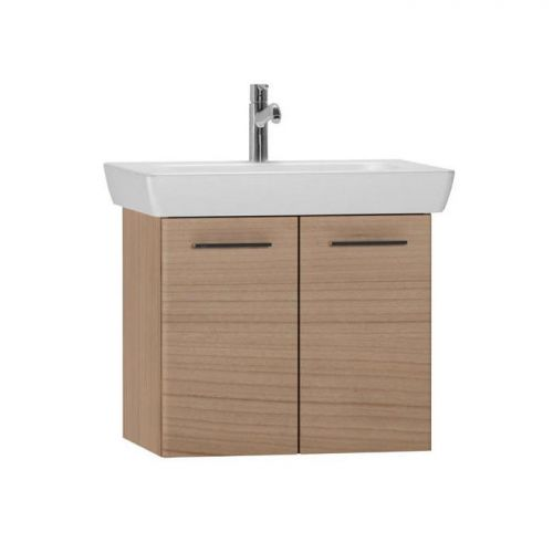 Vitra S20 Cherry 65cm Wall Mounted Vanity Unit With Basin 54783