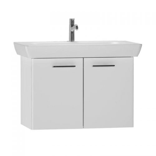Vitra S20 White 85cm Wall Mounted Vanity Unit With Basin 54784