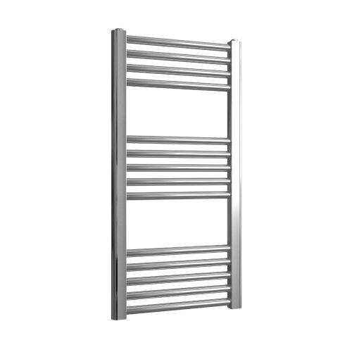 Loco Straight Ladder Rail Chrome 22mm - 400 x 800mm
