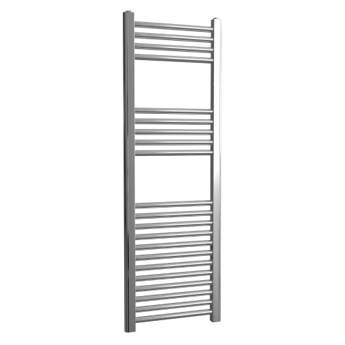 Loco Straight Ladder Rail Chrome 22mm - 400 x 1200mm