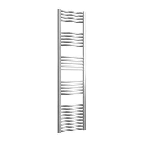 Loco Straight Ladder Rail Chrome 22mm - 400 x 1600mm