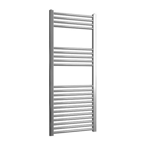 Loco Straight Ladder Rail Chrome - 500mm