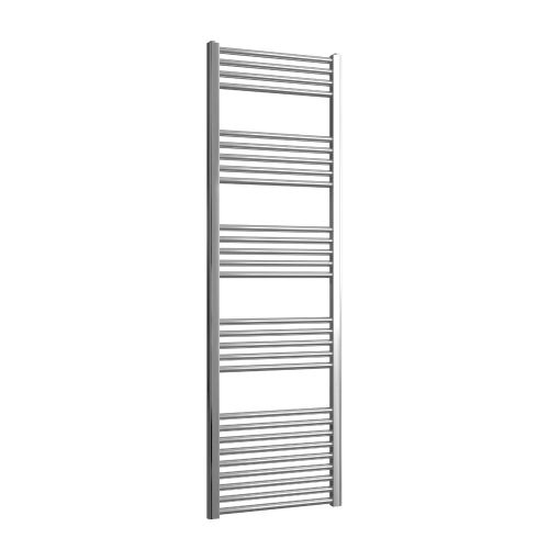 Loco Straight Ladder Rail Chrome 22mm - 500 x 1600mm