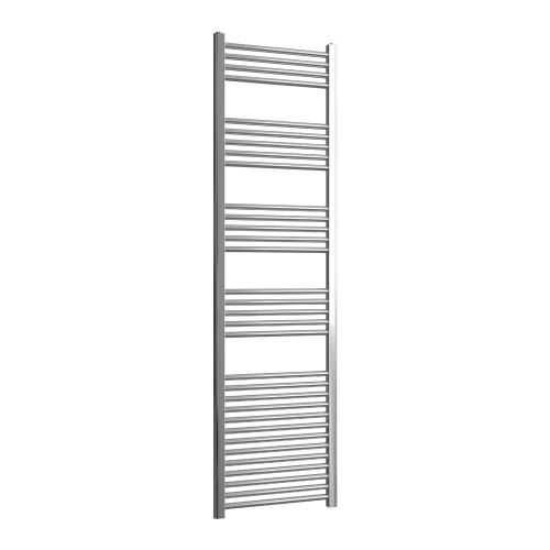 Loco Straight Ladder Rail Chrome 22mm - 500 x 1800mm