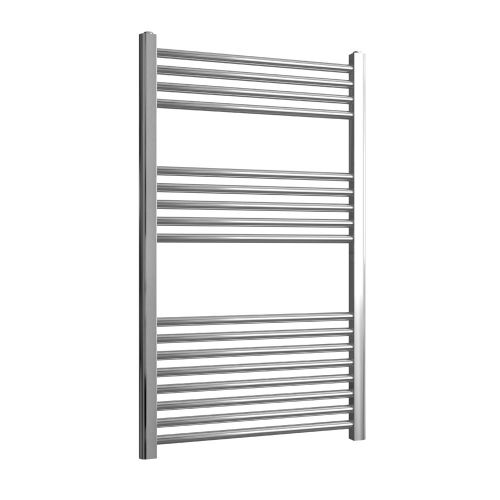 Loco Straight Ladder Rail Chrome 22mm - 600 x 1000mm