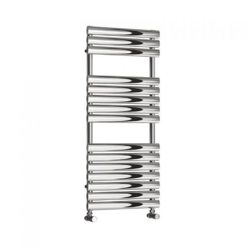 Reina Helin Designer Radiator Stainless Steel - 500 x 1120mm