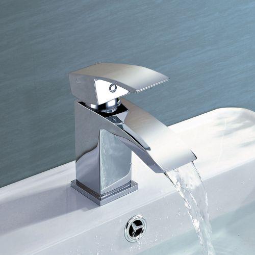 Irwell Mini Mono Basin Mixer - By Voda Design