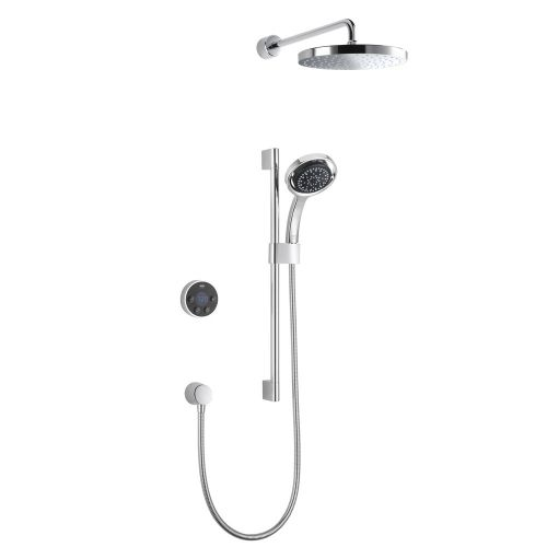 Mira Platinum Dual Rear Fed Wireless Digital Control Shower 1.1796.003 - High Pressure