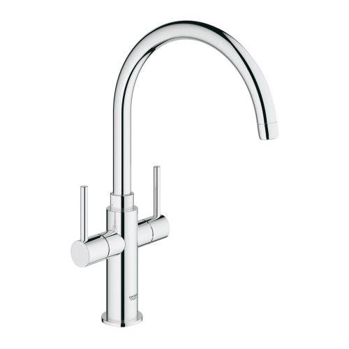 Grohe Ambi Cosmopolitan Two Handle Kitchen Sink Mixer - 30190000
