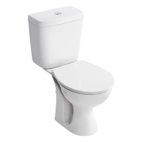 Armitage Shanks Sandringham 21 Close Coupled Full Access WC Toilet (Cistern 6/4 Litres) With Standard Seat