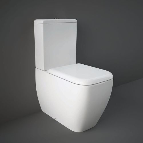 Rak Metropolitan Close Coupled Toilet WC With Soft Close Seat