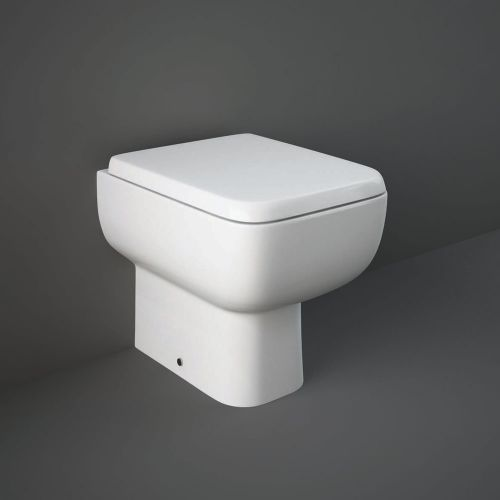 Rak Series 600 Back To Wall Toilet Pan With Soft Close Seat