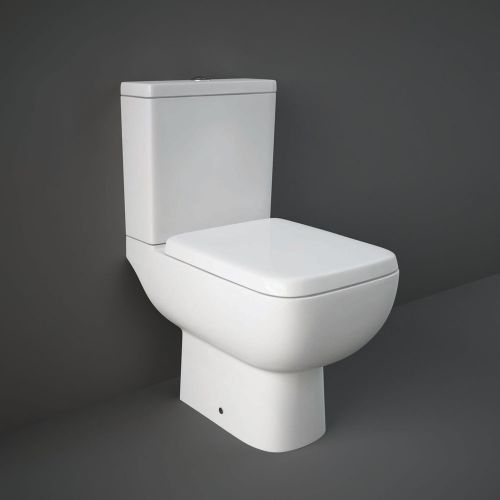 Rak Series 600 Close Coupled Full Access Toilet WC With Soft Close Seat
