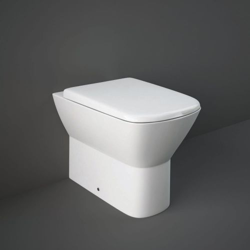 Rak Summit Back To Wall Toilet Pan With Soft Close Seat