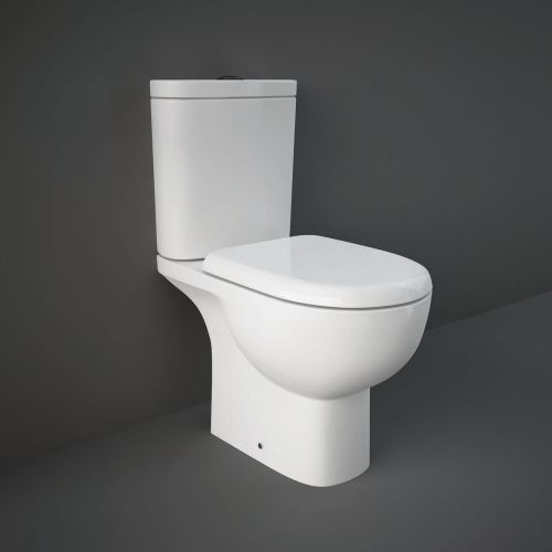 Rak Tonique Close Coupled Full Access Toilet WC With Soft Close Seat