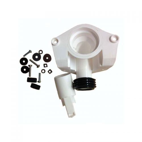 Twyford Nocture Cistern Fixing Assembly White CF8138XX