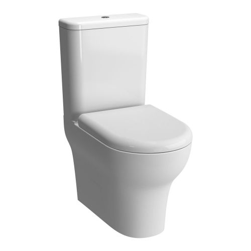 Vitra Zentrum Close Coupled Fully Back To Wall Toilet WC