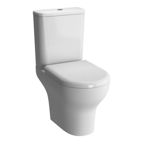 Vitra Zentrum Close Coupled Open Back Toilet WC