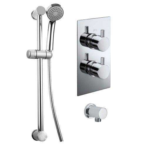 Lewes Concealed Thermostatic Shower Set - By Voda Design