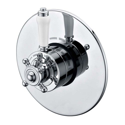 Foyle Traditional Concealed Thermostatic Shower Valve  - By Voda Design