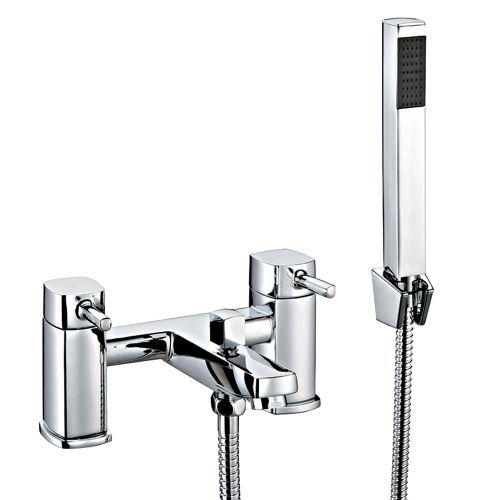 Albany Bath Shower Mixer with Shower Kit - By Voda Design