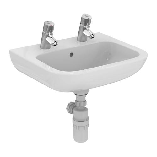 Armitage Shanks Portman 21 Washbasin 50cm 2 Taphole With Overflow S230901