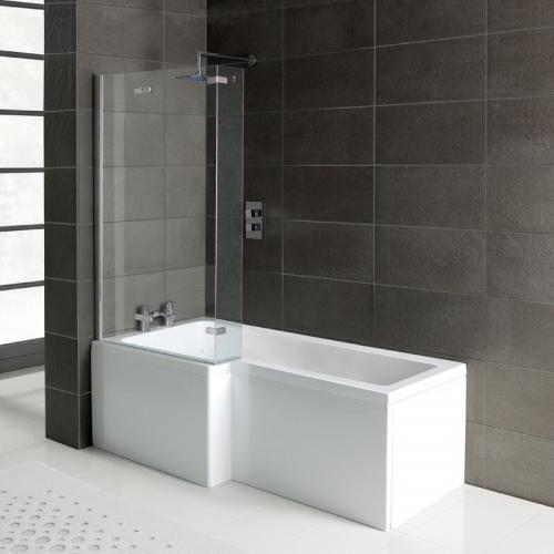 Arley Squrv2 Reversible 6mm Square Shower Screen