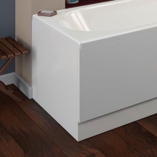 Jensen Edwards 16mm Gloss White Luxury Wood End Panel