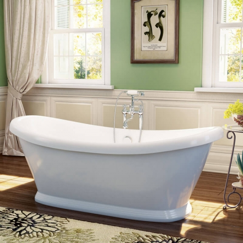 Synergy Boat Traditional Double Ended Bath 1770 x 785 x 740mm