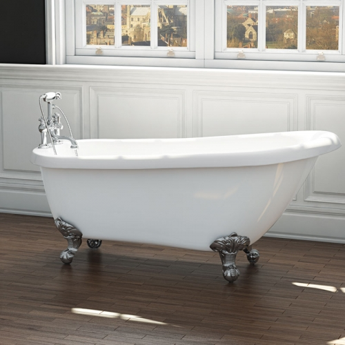 Synergy Brentwood Traditional Slipper Bath