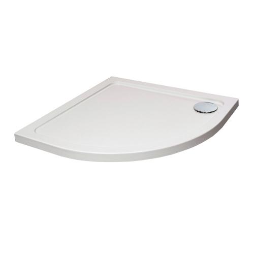 Hydro45 Quadrant Shower Tray White