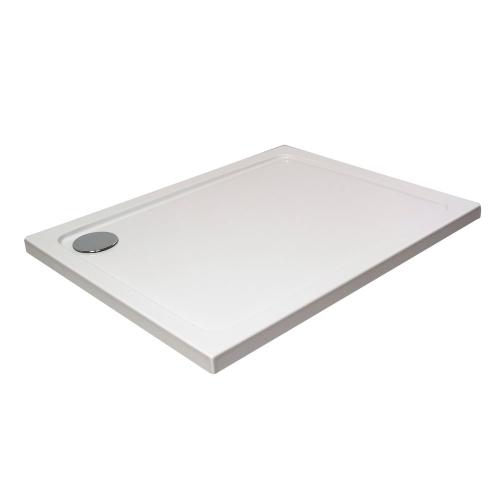 Hydro45 Rectangular Shower Tray White
