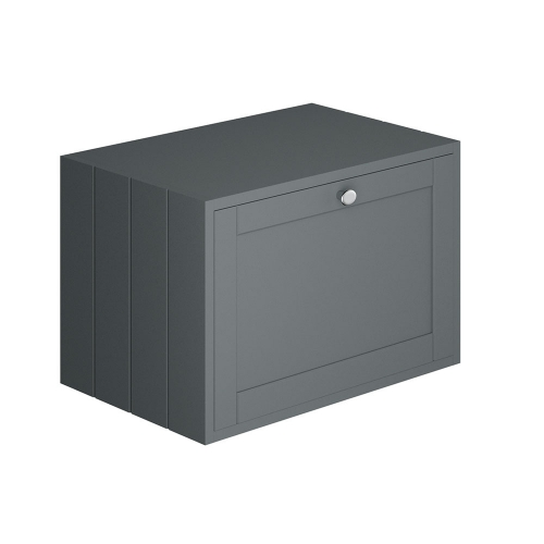 Synergy Henbury Grey 600mm Wall Storage Unit