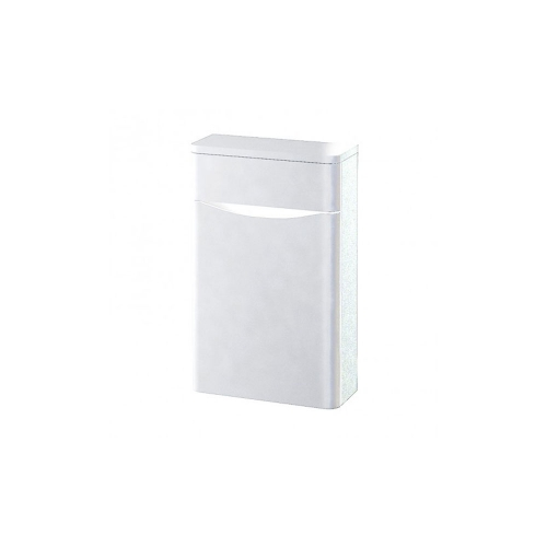 Synergy Kiev White Gloss 500mm Back to Wall WC Furniture Unit