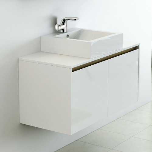 Synergy Nordic 1000mm Cabinet & Countertop Basin