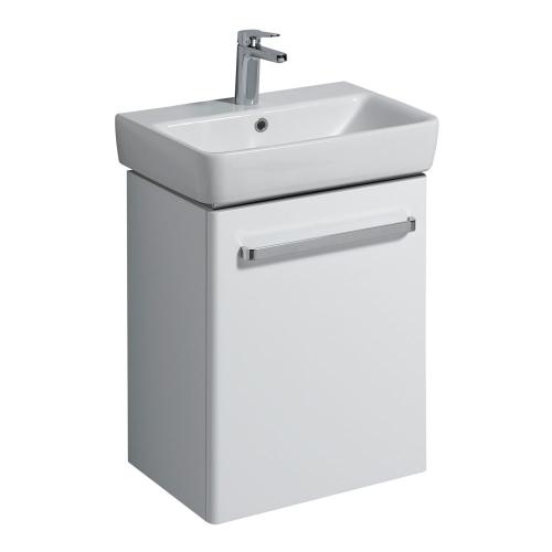 Twyford E200 White Vanity Unit & Wash Basin 550x370mm